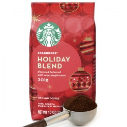 Купить молотый кофе Starbucks Holiday Blend 2018 Medium Roast Ground Coffee