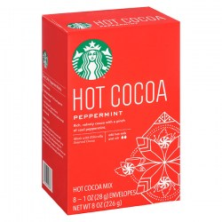 Какао Starbucks Peppermint Hot Cocoa Mix из США