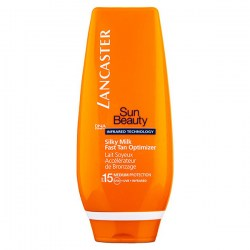 Купить Lancaster Sun Beauty Silky Milk Fast Tan Optimizer SPF15 Киев, Украина