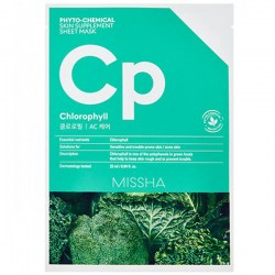 Купить Missha Phytochemical Skin Supplement Sheet Mask Chlorophyll/AC Care Киев, Украина