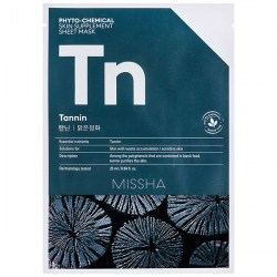 Купить Missha Phytochemical Skin Supplement Sheet Mask Tannin/Purifying Киев, Украина