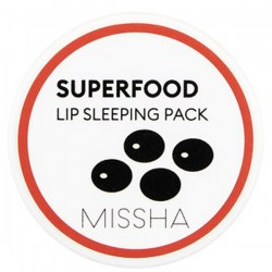 Купить Missha Superfood Black Bean Lip Sleeping Pack Киев, Украина