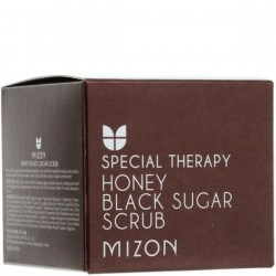 Купить скраб для лица Mizon Special Therapy Honey Black Sugar Scrub