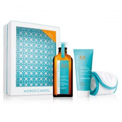 Купить Moroccanoil Treatment Light & Hydrating Styling Cream and Spa Headband