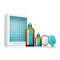 Купить Moroccanoil Light Oil Treatment Home and Away Set with Candle