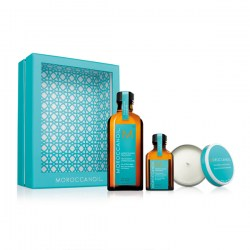 Купить Moroccanoil Treatment for All Hair Home and Away Set with Candle