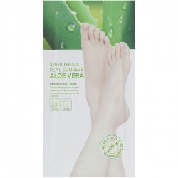 Купить Nature Republic Foot Nature Aloe Vera Peeling Foot Mask Киев, Украина