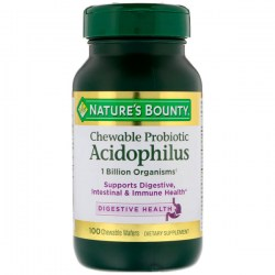 Купить Nature's Bounty Chewable Probiotic Acidophilus Киев, Украина