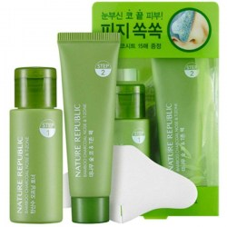 Купить Nature Republic Bamboo Charcoal Nose & T-Zone Pack Киев, Украина
