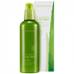 Купить эмульсию для лица Nature Republic Real Squeeze Aloe Vera Emulsion