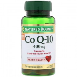 Купить Nature's Bounty Co Q-10 400 мг 39 шт