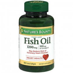 Купить Natures Bounty Odor-Lees Fish Oil 1200 mg. + 360 mg. Киев, Украина