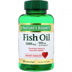 Купить Nature's Bounty Odor-Lees Fish Oil 1400 mg. + 980 mg. Киев, Украина