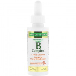 Купить Nature's Bounty Sublingual Liquid B Complex Киев, Украина