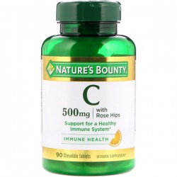 Купить Nature's Bounty Vitamin C with Rose Hips Киев, Украина