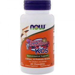 Купить Now Foods Berry Dophilus Kids 2 Billion 10 Probiotic Strains Киев, Украина