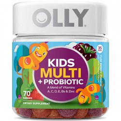 Купить OLLY Kids Multi Vitamin Plus Probiotic Gummies Berry Flavor Киев, Украина