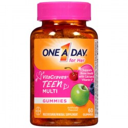 Купить One A Day For Her VitaCraves Teen Multivitamin Gummies Киев, Украина