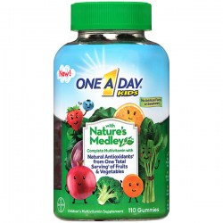 Купить One A Day Kids with Nature's Medley Multivitamin Gummies Киев, Украина