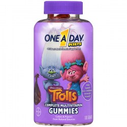 Купить One A Day Kids Trolls Multivitamin Gummies Киев, Украина