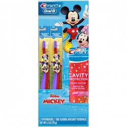 Купить Oral-B and Crest Kids Holiday Gift Pack Disneys Mickey Mouse & Minnie Mouse Киев, Украина