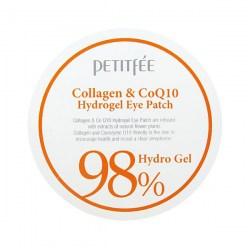Купить Petitfee Collagen & Co Q10 Hydrogel Eye Patch Киев, Украина