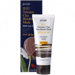 Купить маску для лица Petitfee Jeju Volcanic Clay Blackhead Mask With Sea Salt