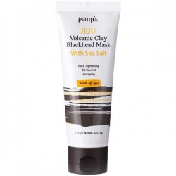 Купить Petitfee Jeju Volcanic Clay Blackhead Mask With Sea Salt Киев, Украина