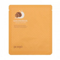 Купить Petitfee Gold & Snail Hydrogel Mask Pack Киев