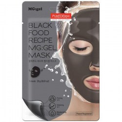 Купить Purederm Black Food Recipe MG:Gel Mask Киев, Украина