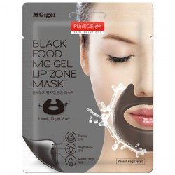 Купить Purederm Black Food MG:gel Lip Zone Mask Киев, Украина