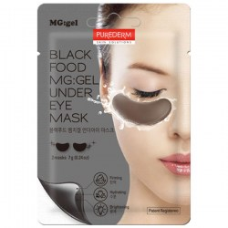Купить Purederm Black Food MG:gel Under Eye Mask Киев, Украина