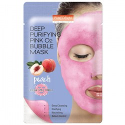 Купить Purederm Deep Purifying Pink O2 Bubble Mask Peach Киев, Украина