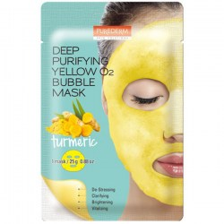 Купить Purederm Deep Purifying Yellow O2 Bubble Mask Turmeric Киев, Украина