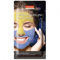 Купить Purederm Galaxy 2X Bubble Sparkling Multi Mask Yellow & Violet Киев, Украина