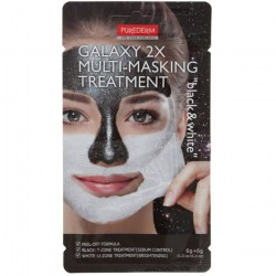 Купить Purederm Galaxy 2x Multi-Masking Treatment Black & White Киев, Украина