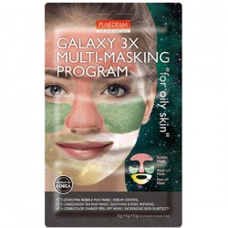Купить Purederm Galaxy 3X Multi-Masking Program For Oily Skin Киев, Украина