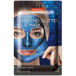 Купить Purederm Galaxy Diamond Glitter Blue Mask Киев, Украина
