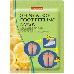 Купить Purederm Shiny & Soft Foot Peeling Mask Киев, Украина