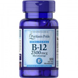 Купить Puritan's Pride Vitamin B-12 Sublingual Киев, Украина