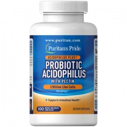 Купить Puritan's Pride Probiotic Acidophilus with Pectin Киев, Украина