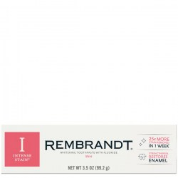 Купить зубную паста Rembrandt Removes Stains Restores Enamel Mint Toothpaste