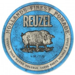 Купить Reuzel Blue Strong Hold Water Soluble High Sheen Pomade Киев, Украина
