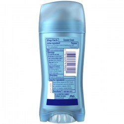 Состав Secret Coconut 48 HR Invisible Solid Antiperspirant