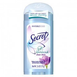 Купить Secret PH Balanced Sheer Clean Invisible Solid Antiperspirant Киев, Украина