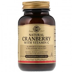 Купить Solgar Natural Cranberry with Vitamin C Киев, Украина