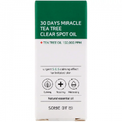 Купить масло для лица Some By Mi 30 Days Miracle Tea Tree Clear Spot Oil
