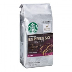 Купить молотый кофе Starbucks Espresso Roast Rich & Caramelly Dark Coffee