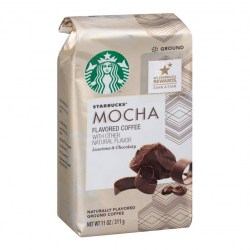 Купить молотый кофе Starbucks Mocha Flavored Coffee Natural Flavor Luscious Chocolaty