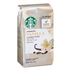 Купить молотый кофе Starbucks Vanilla Flavored Coffee Natural Flavor Silky & Rich